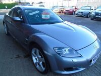 MAZDA RX8 1.3 FOUR DOOR SUPERB LOOKING VEHICLE REAL EYE CATCHER EXCELLENT CONDITION.