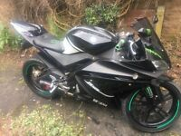 Yamaha yzf r 125 (may swap) relished cuz time wasters