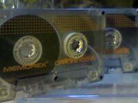 MEMOREX CRX II S 100 CHROME CASSETTE TAPES (1989-1990) NOW MEGA-RARE