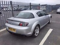 2005 Mazda RX-8 1,3 litre 5dr 2 owners 43000 miles