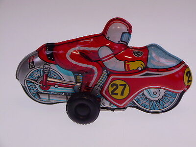 GSMOTO  KLEINES MOTORRAD/MOTO, PENNY TOY aus Japan, 11cm, WIND UP, SEHR GUT  !!