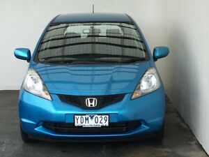 2010 Honda Jazz GE MY10 GLi Cerulean Blue 5 Speed Manual Hatchback Mount Gambier Grant Area Preview