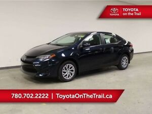 2019 Toyota Corolla LE CVT; A/C, HEATED SEATS, SAFETY SENSE, BAC