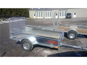 2017 K Trail  5' x 8'   Galvanized Utility Trailer CANADIAN MADE