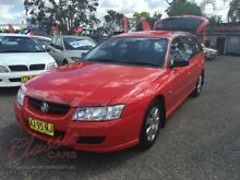 2006 Holden Commodore VZ Executive Burgundy 4 Speed Automatic Wagon Lansvale Liverpool Area Preview