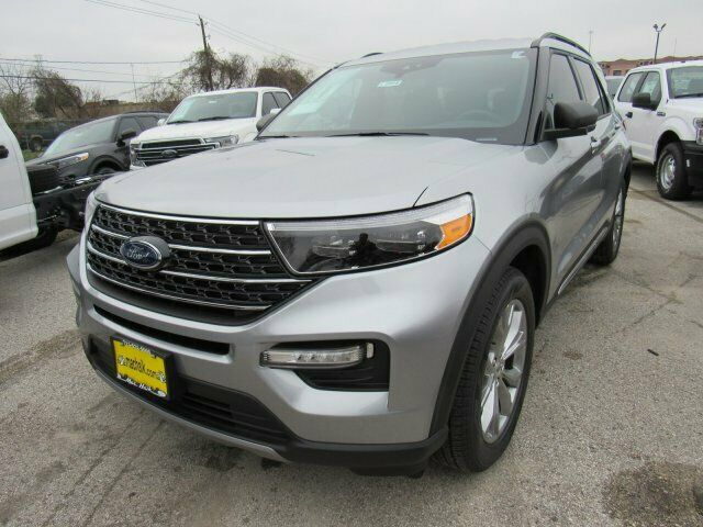 2020 Ford Explorer XLT 1246 Miles Iconic Silver Metallic Sport Utility Intercool