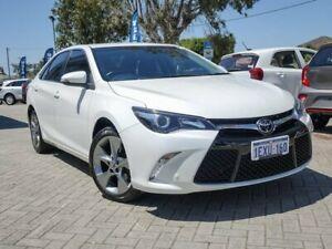 2015 Toyota Camry ASV50R Atara SL White 6 Speed Sports Automatic Sedan Morley Bayswater Area Preview