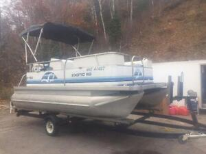 ***NEW ARRIVAL*** 2006 18' SUN PARTY 18' PONTOON WITH 4 STROKE