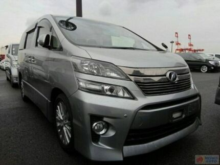 Toyota Vellfire Well Cab Five Dock Canada Bay Area Preview