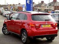 2015 15 MITSUBISHI ASX 1.8 DI-D 4 5DR * PAN ROOF NAV LEATHER * DIESEL