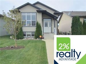 Completely Finished Bi-Level, Garage/Shop- Listed By 2% Realty