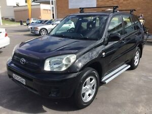 2004 Toyota RAV4 Black Automatic Wagon Boolaroo Lake Macquarie Area Preview