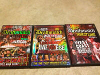 The Best of Deathmatch Wrestling DVD's