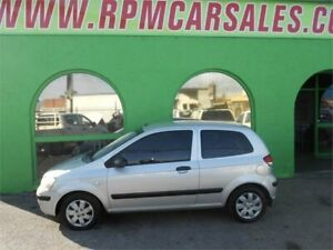 2002 Hyundai Getz TB GL Silver 5 Speed Manual Hatchback Nailsworth Prospect Area Preview