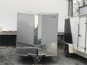 2017 Look 6x12 Enclosed Cargo Trailer BARELY USED