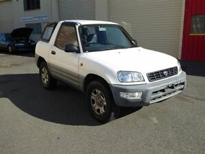1998 Toyota RAV4 (4x4) White 5 Speed Manual 4x4 Cabriolet Strathpine Pine Rivers Area Preview