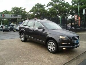2007 Audi Q7 MY07 Upgrade 3.0 TDI Quattro Grey 6 Speed Tiptronic Wagon Villawood Bankstown Area Preview