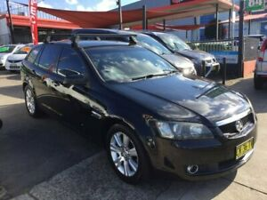 2009 Holden Calais VE MY09.5 Sportwagon Black 5 Speed Sports Automatic Wagon Lidcombe Auburn Area Preview
