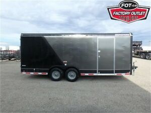 8.5 x 20 Enclosed Cargo Trailer - 12,000 lbs. GVWR w/Barn Doors!
