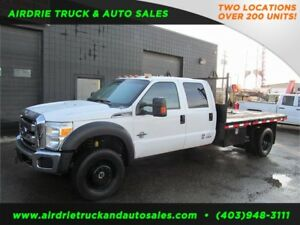 2014 Ford Super Duty F-550 DRW XLT 6.7L 12 feet Flat Deck