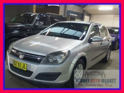 2006 Holden Astra AH MY06 CD Grey 4 Speed Automatic Hatchback