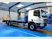 DAF TRUCKS CF75.310 Beavertail, Euro 5, ULEZ Compliant, 6x2 rearlift