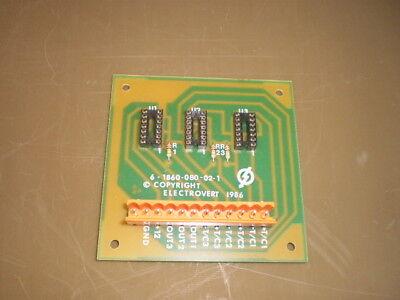 Electrovert 6-1860-080-02-1 6-1860-080-04-1 U2000 Pcb