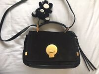 Chloe Indy Small suede and leather shoulder bag