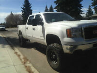 Lifted 2011 GMC Sierra 2500 HD/SLE Pickup Truck Duramax