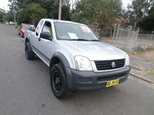 2003 Holden Rodeo RA LX Silver 5 Speed Manual SPACE CAB PUP Sylvania Sutherland Area Preview