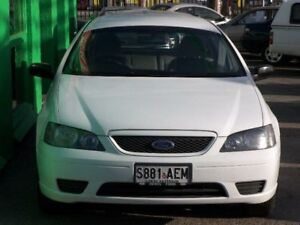 2006 Ford Falcon BF XT White 4 Speed Sports Automatic Wagon