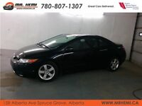 2008 Honda Civic Cpe Black on Black Sunroof *Everyone Approved*