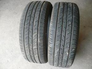 two 235-55-17 tires $90.00