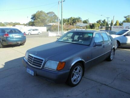 1992 Mercedes-Benz 300SEL W126 Grey 4 Speed Automatic Sedan Bayswater Bayswater Area Preview