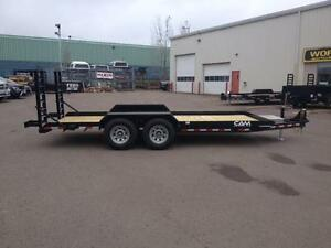 "New 2016 Cam Superline 81"" x 18' Equipment Trailer"