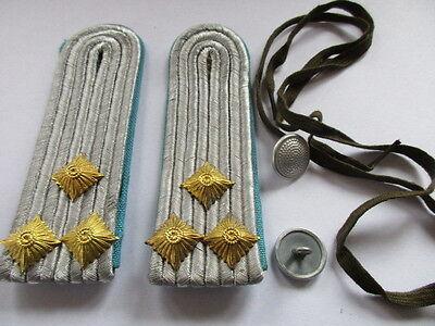 NVA 1 paar Schulterstücke   Oberleutnant  Luftstreitkräfte