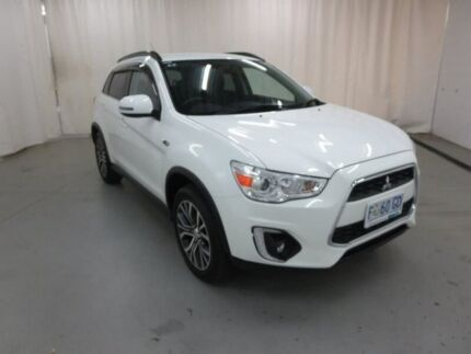 2016 Mitsubishi ASX XB MY15.5 LS 2WD White 6 Speed Constant Variable Wagon Glebe Hobart City Preview