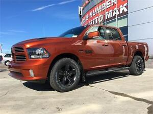2017 RAM 1500 SPORT IN COPPER PEARL CHECK OUT THE INTERIOR !!