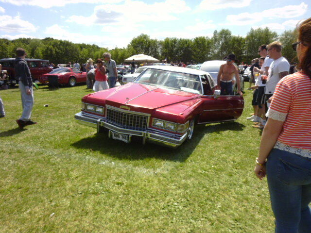 A Yank-Tank at The Bromley Classic Car Show