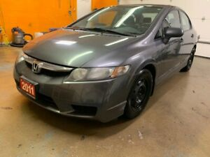 2011 Honda Civic Sdn DX-G DX-G - LOW KM - 2 SETS TIRES!!!!
