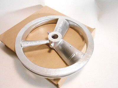 10 Dia Air Compressor Flywheel Pulley Fits Tapered Shaft Uses 12 Belt