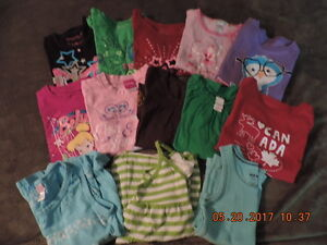 Girl's Size 5T Summer Tops
