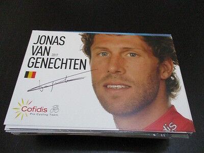 69395 Jonas van Genechten Radsport original signierte Autogrammkarte