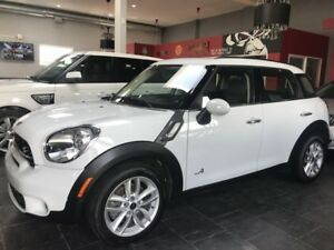 2014 MINI COOPER COUNTRYMAN S, AWD, PANO SUNROOF, ONLY 30.0KM