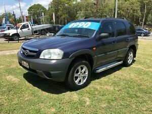 2001 Mazda Tribute Limited Blue 4 Speed Automatic 4x4 Wagon Clontarf Redcliffe Area Preview