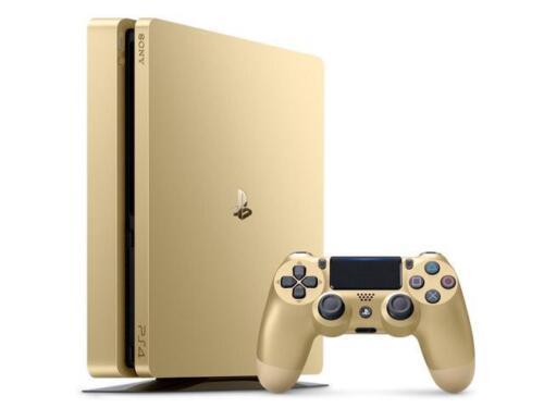 Playstation 4 - PlayStation 4 Slim 1TB Console (Gold)