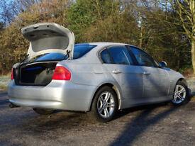 BMW 3 SERIES 2.0 320D SE 4d 174 BHP (silver) 2007