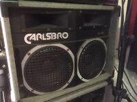 2 x 8 Speaker Cabs