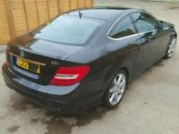 MERCEDES C CLASS W204 BREAKING FOR SPARES