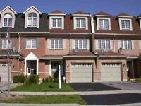 Nicely Upgraded Freehold Townhouse At Churchill Meadows.
